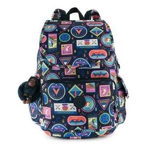 City Pack Printed Backpack - Wandering Roads