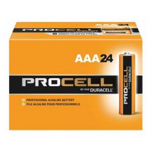 Duracell Procell Alkaline AAA Batteries, 24 Pack