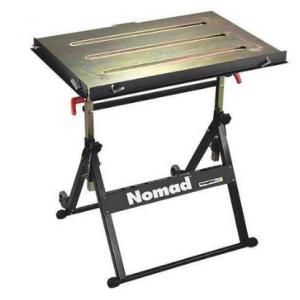 Portable Welding Table, 30W, 20D, Cap 350