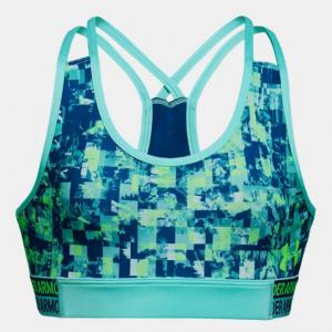 HeatGear® Armour Printed Girls' Sports Bra