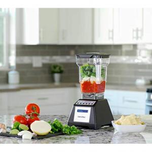 Blendtec Total Classic Original Blender with FourSide Jar (32 oz), Professional-Grade Power, 6 Pre