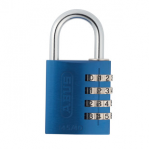 Abus 145/40 Blue C Aluminium Combination Padlock