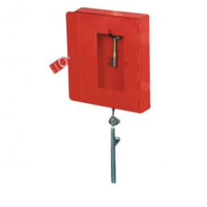 Emergency Key Box & Hammer /chain