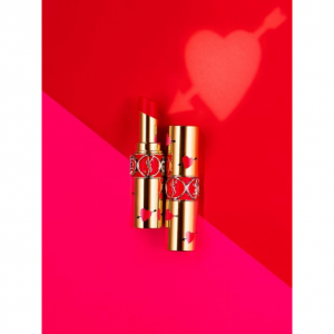 Pre-Order YSL Rouge Volupte Shine Collector Lipstick Valentine's Day Limited Edition