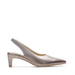Ellis Ruby Womens Shoes Rose Gold Leather