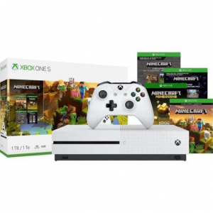 Xbox One S 1TB Minecraft Creators Bundle @ eBay