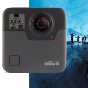 Save $100 on Fusion + Two FREE SD Cards @ GoPro