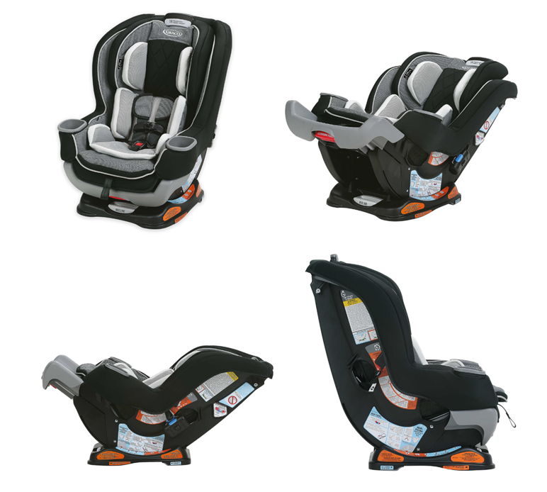 62 Off GracoR Extend2FitTM Platinum All In One Convertible Car Seat